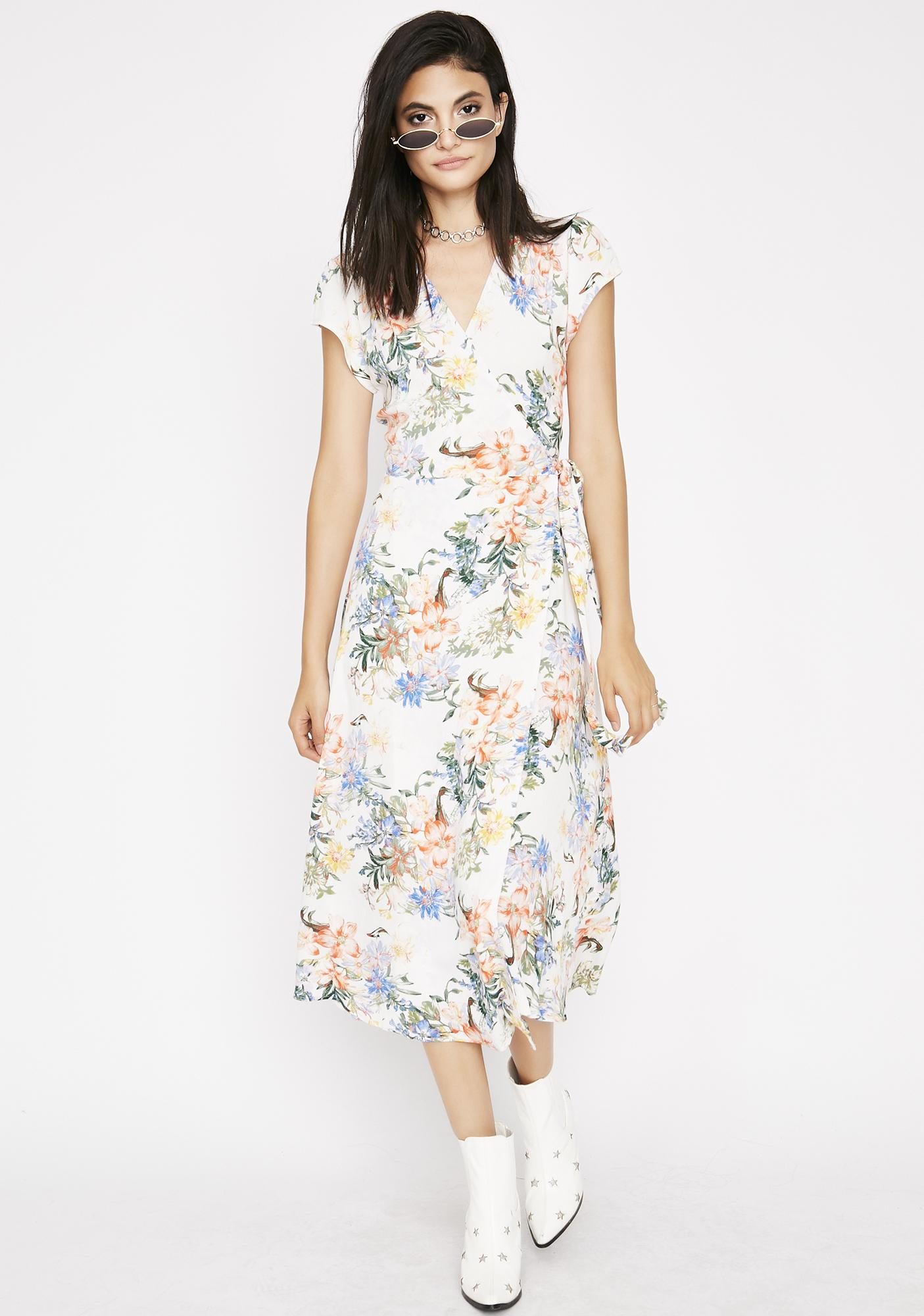 Botanic Babe Wrap Dress