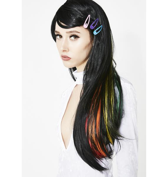Shining Rainbow Long Wig