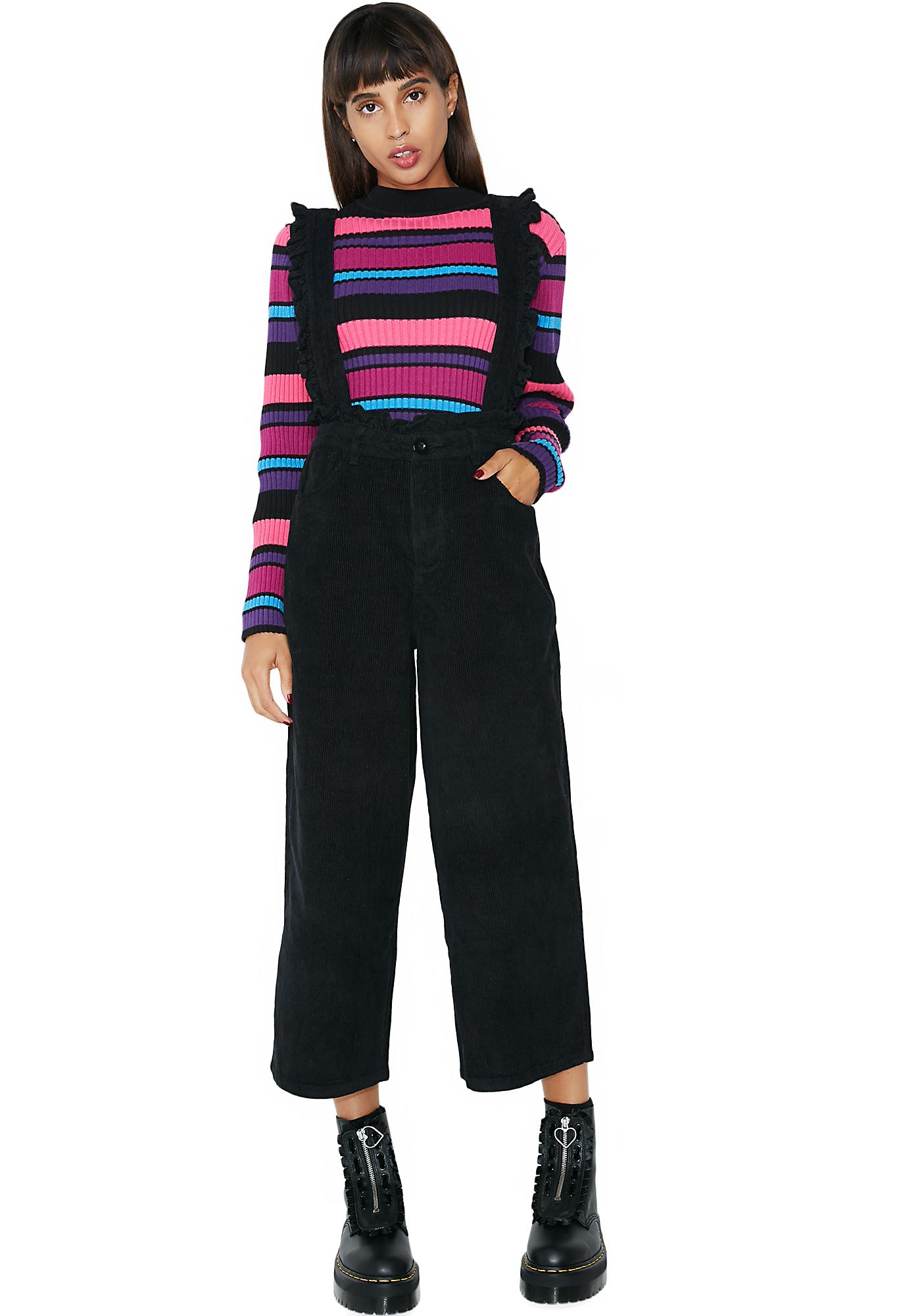Lazy Oaf Frilly Suspender Trousers