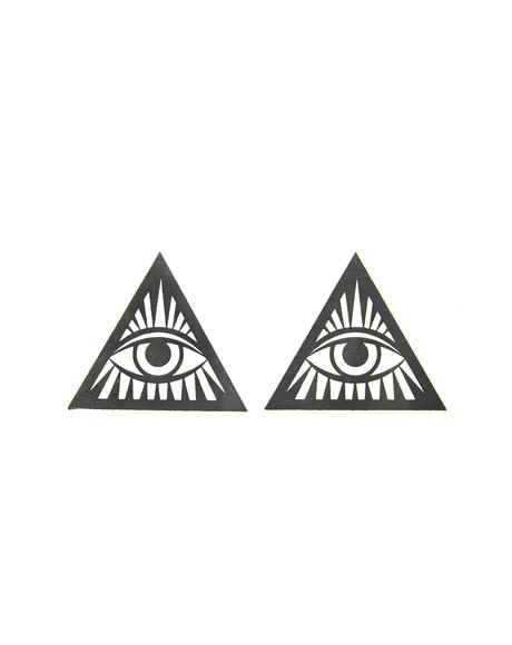 Third Eye Glitter Triangle Pasties