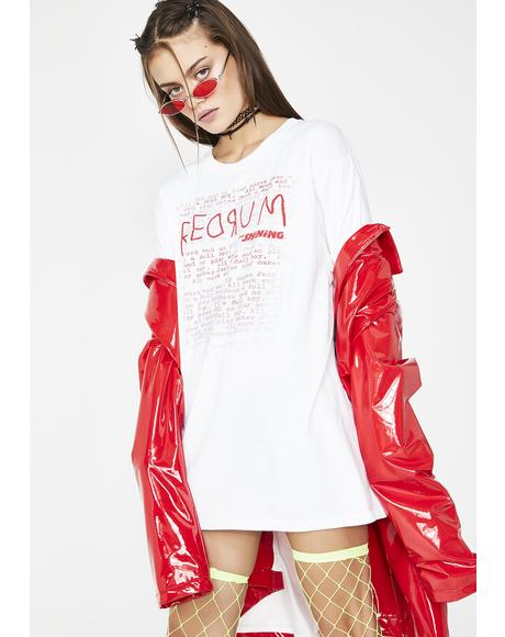 Red Rum Short Sleeve Tee