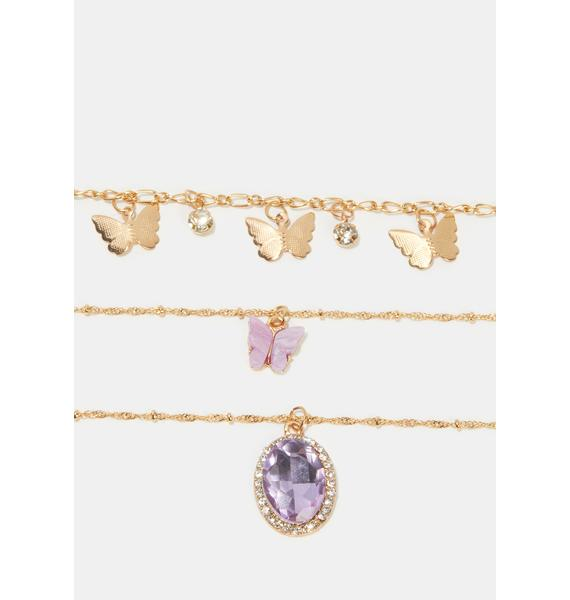 Miss Magic Chain Necklace Set