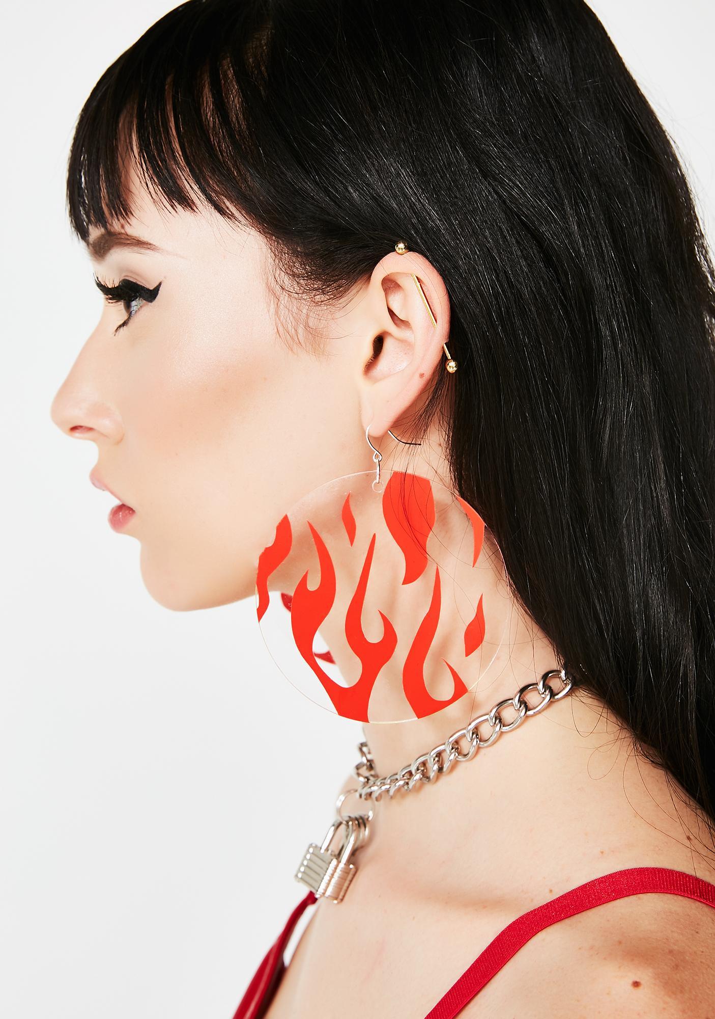 Ivy Berlin On Fire Earrings