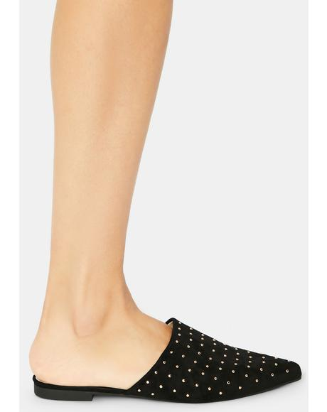 Punk Icon Stud Flats