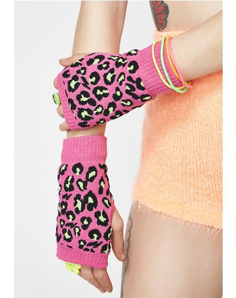 Sweet Pounce Arm Warmers