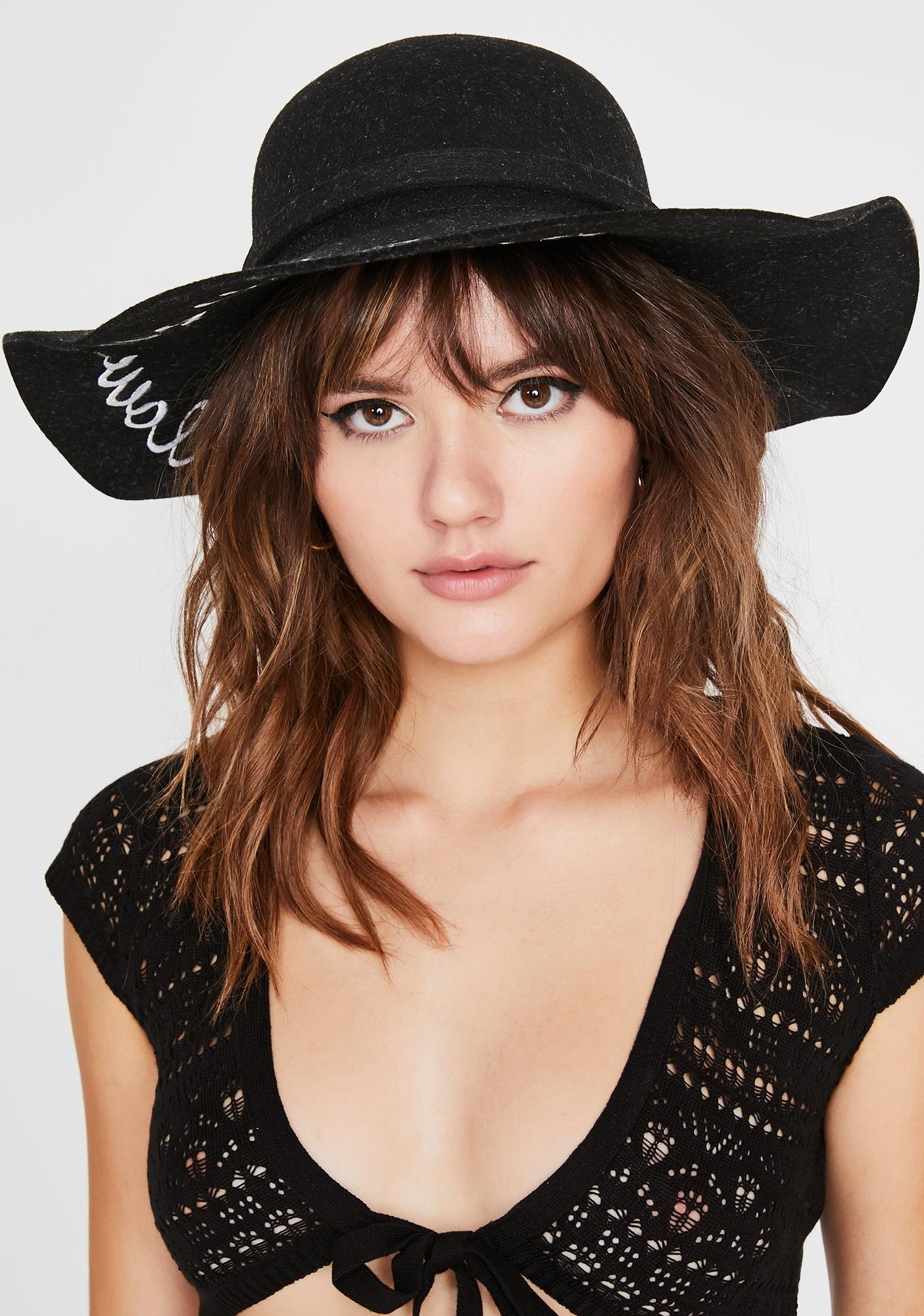 Follow Your Dreams Wide Brim Hat