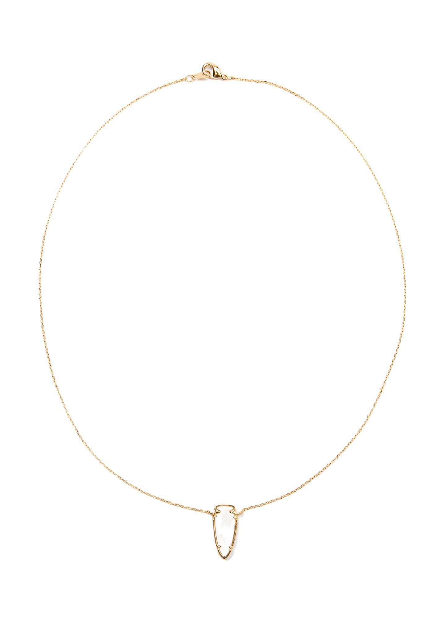 Elegance Dainty Pendant Necklace