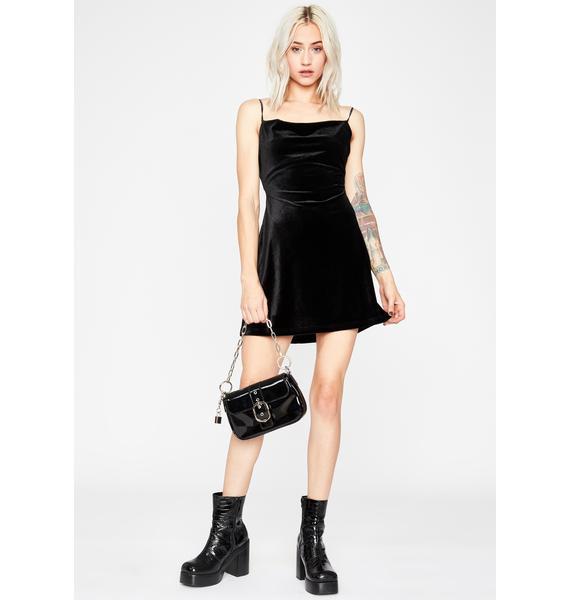My Temptation Velvet Dress