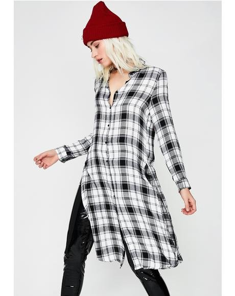 Mad Decisions Shirt Dress