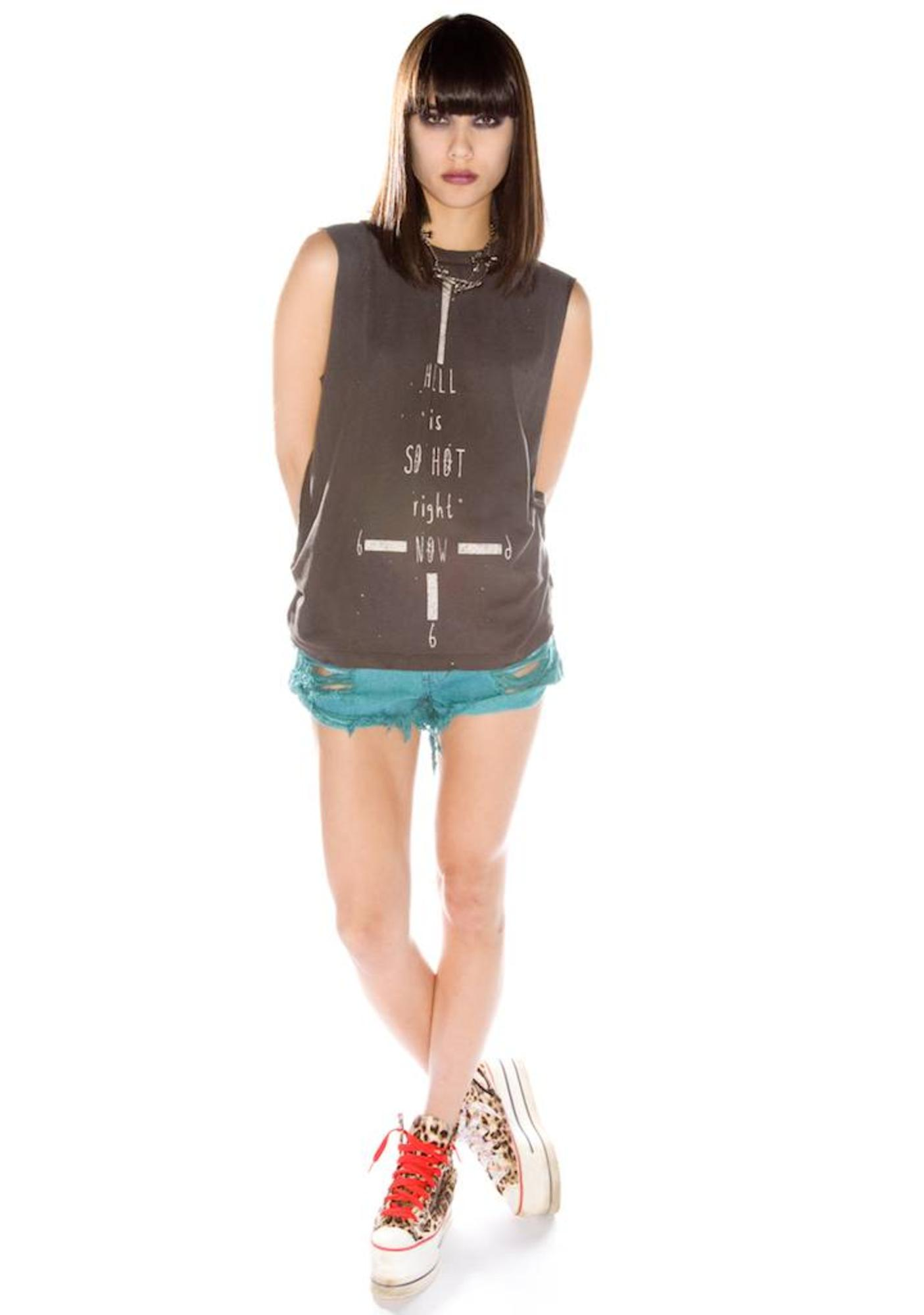 UNIF Hell Is So Hot Tank Top