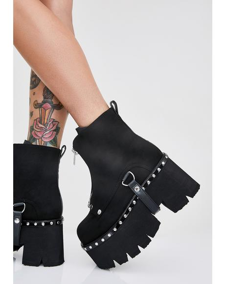 Shady Stomping Groundz Platform Booties