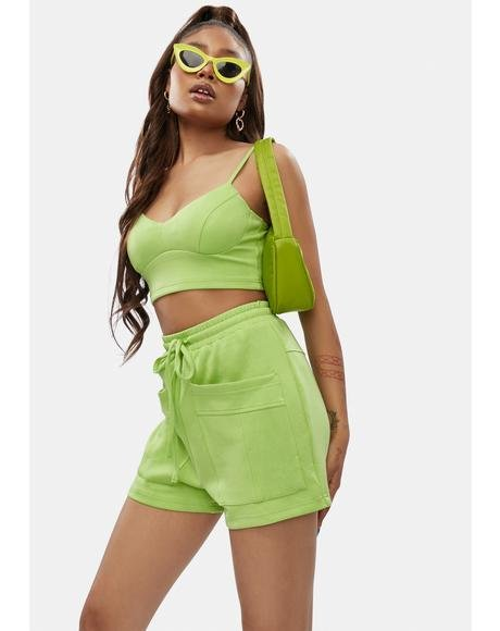 Feelin' Myself Sweatshorts Set