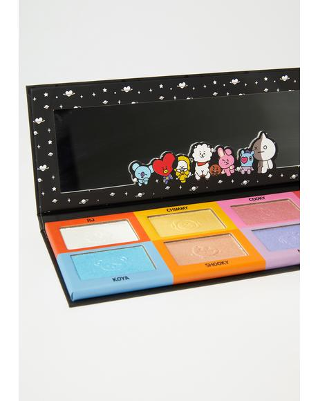 Bt21 Eyeshadow Palette