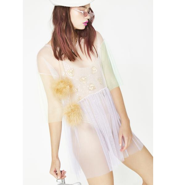 Ethereal Dreamz Sheer Dress