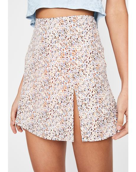 Meow Kitty Trixx Mini Skirt