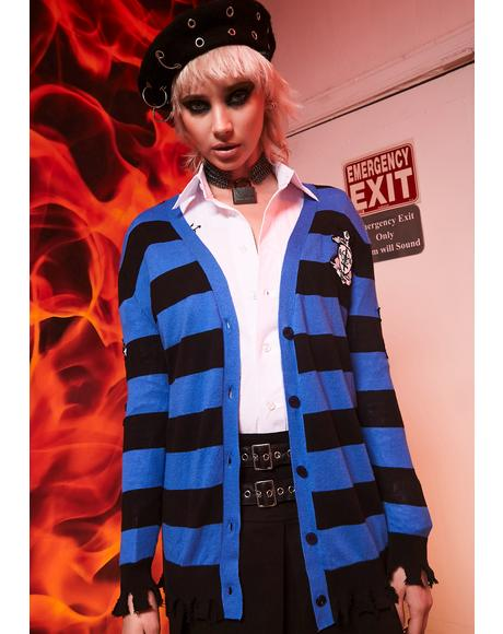 Principal's Office Varsity Cardigan