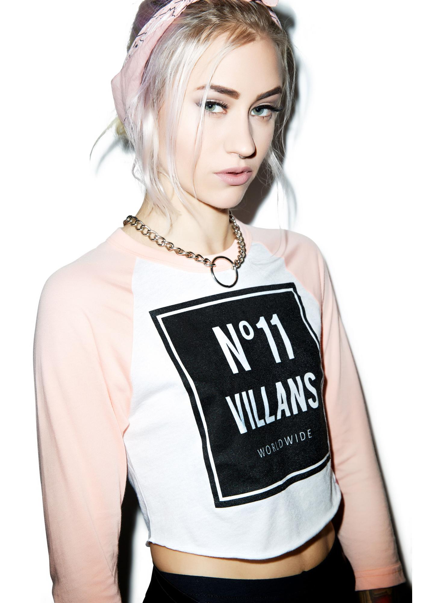 Villans Worldwide 11 Raglan
