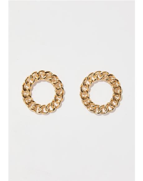 Linked Us Together Earrings