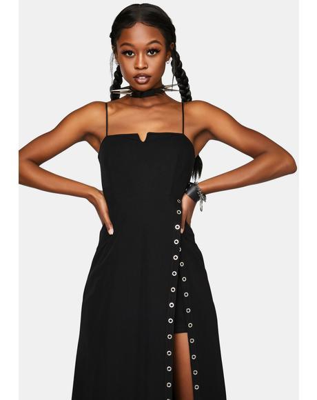Sexy V-Neck Braces Dress