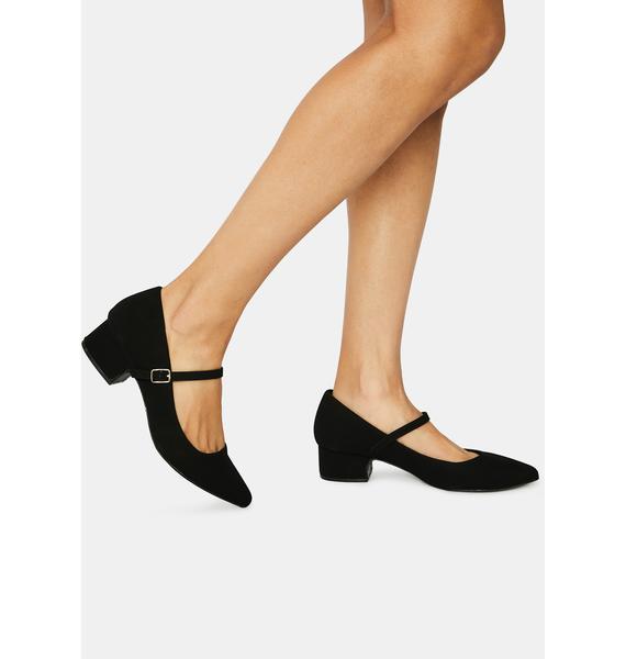 Mary Jane Bliss Block Heels