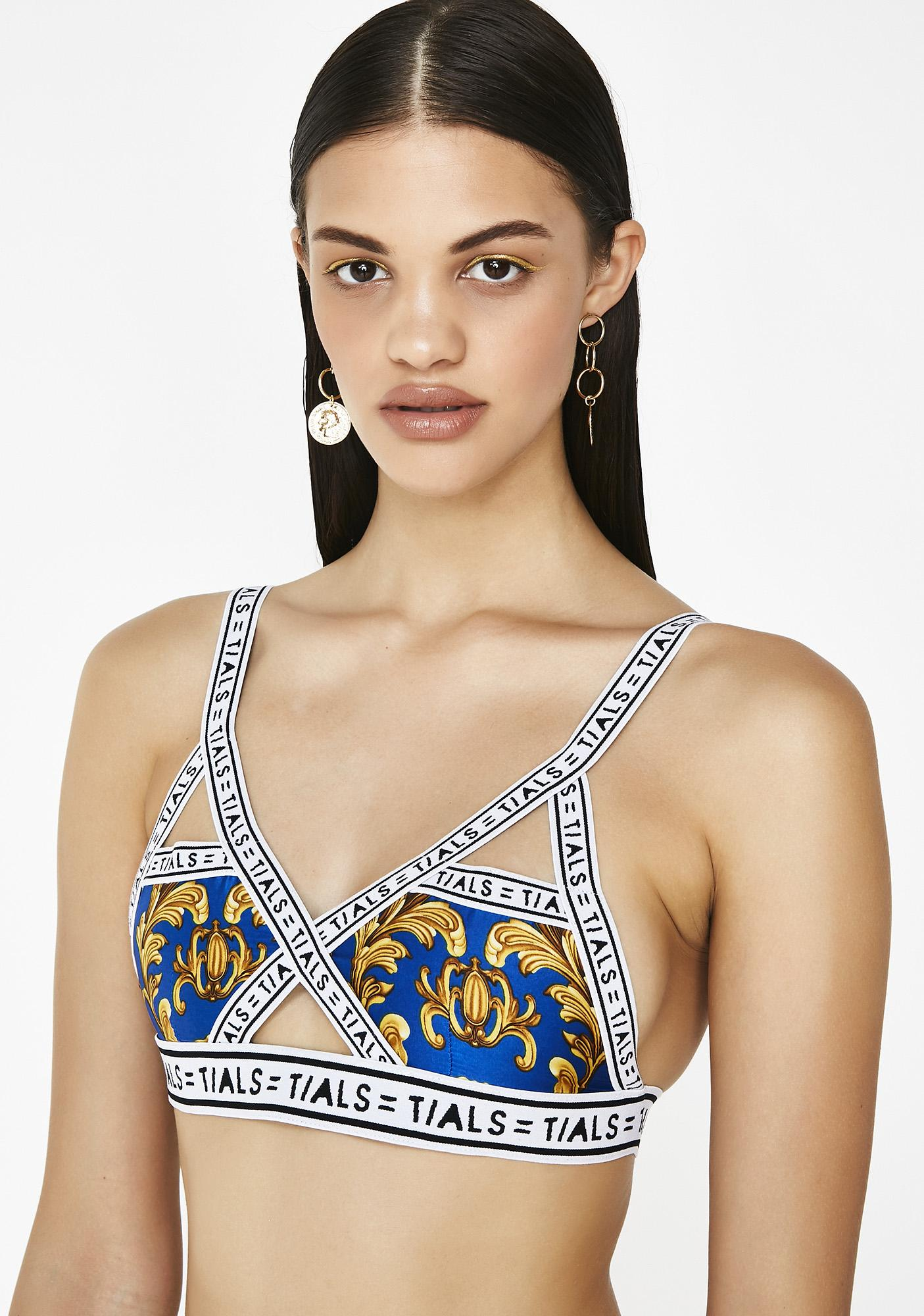 This Is A Love Song x Baroque Sky Bondage Bra