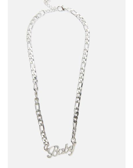 Big Baby Chain Necklace