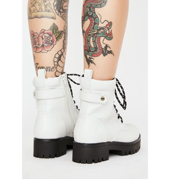 Angel Walk All Ova You Ankle Boots