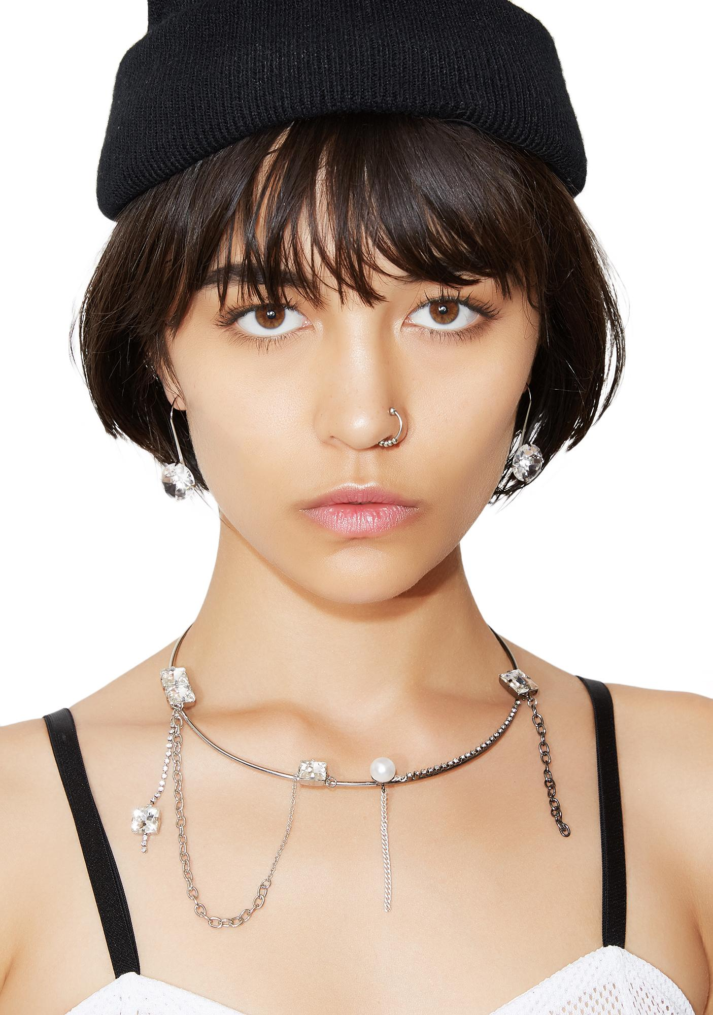 Cheap Monday Diamond Earrings