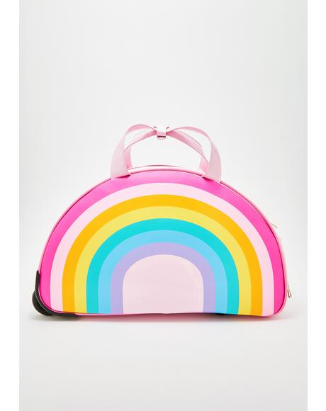 Sugar Rainbow Rolling Suitcase