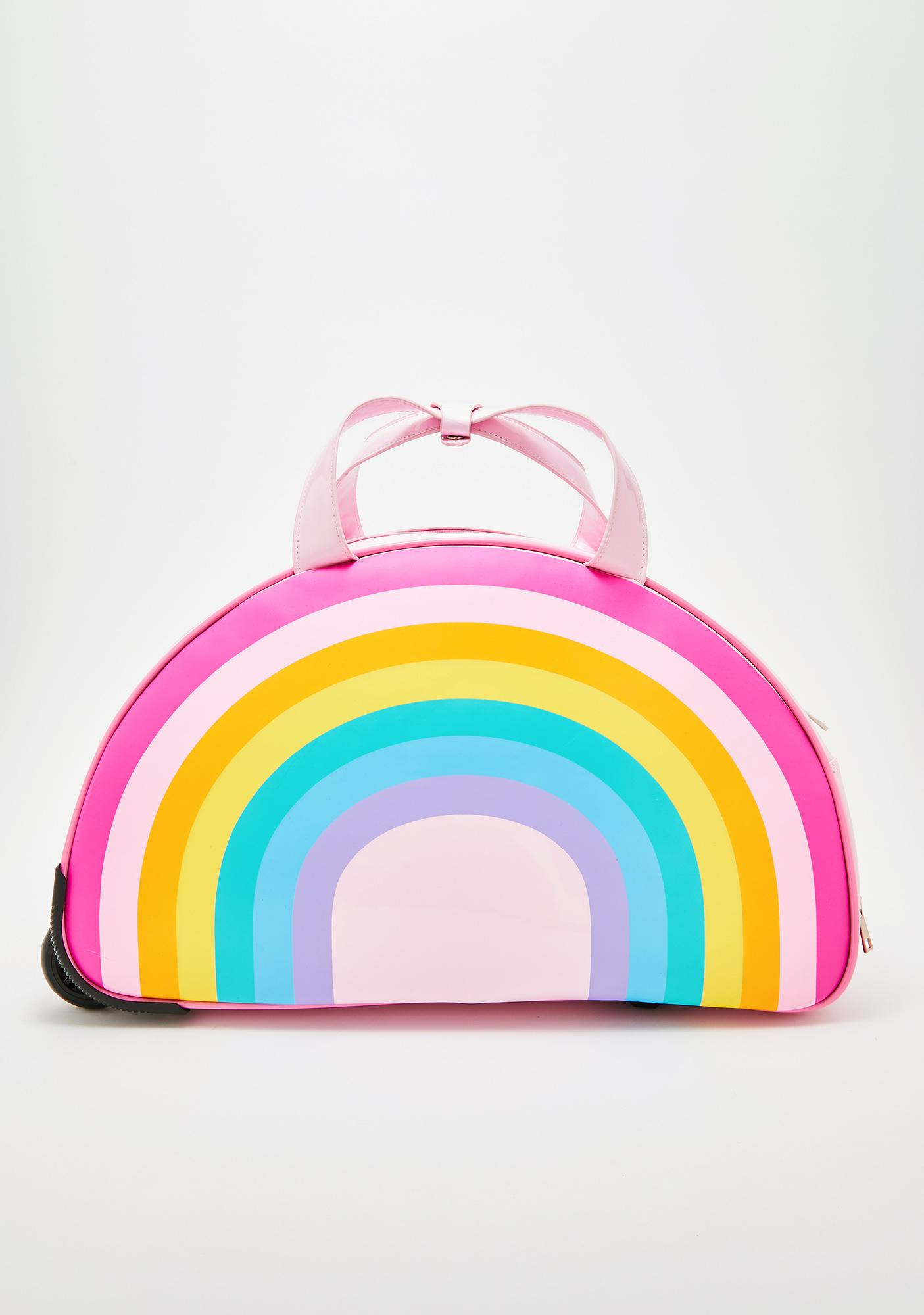 Sugar Thrillz Sugar Rainbow Rolling Suitcase