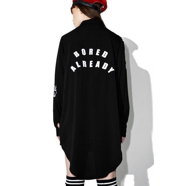 Lazy Oaf Remind Me Later Shirt