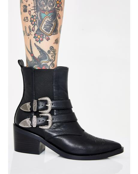 West Wind Cowboy Booties