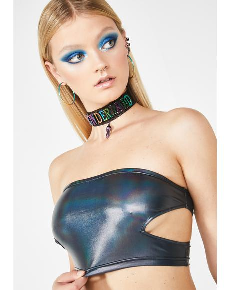 Sinful Deceiver Cutout Tube Top