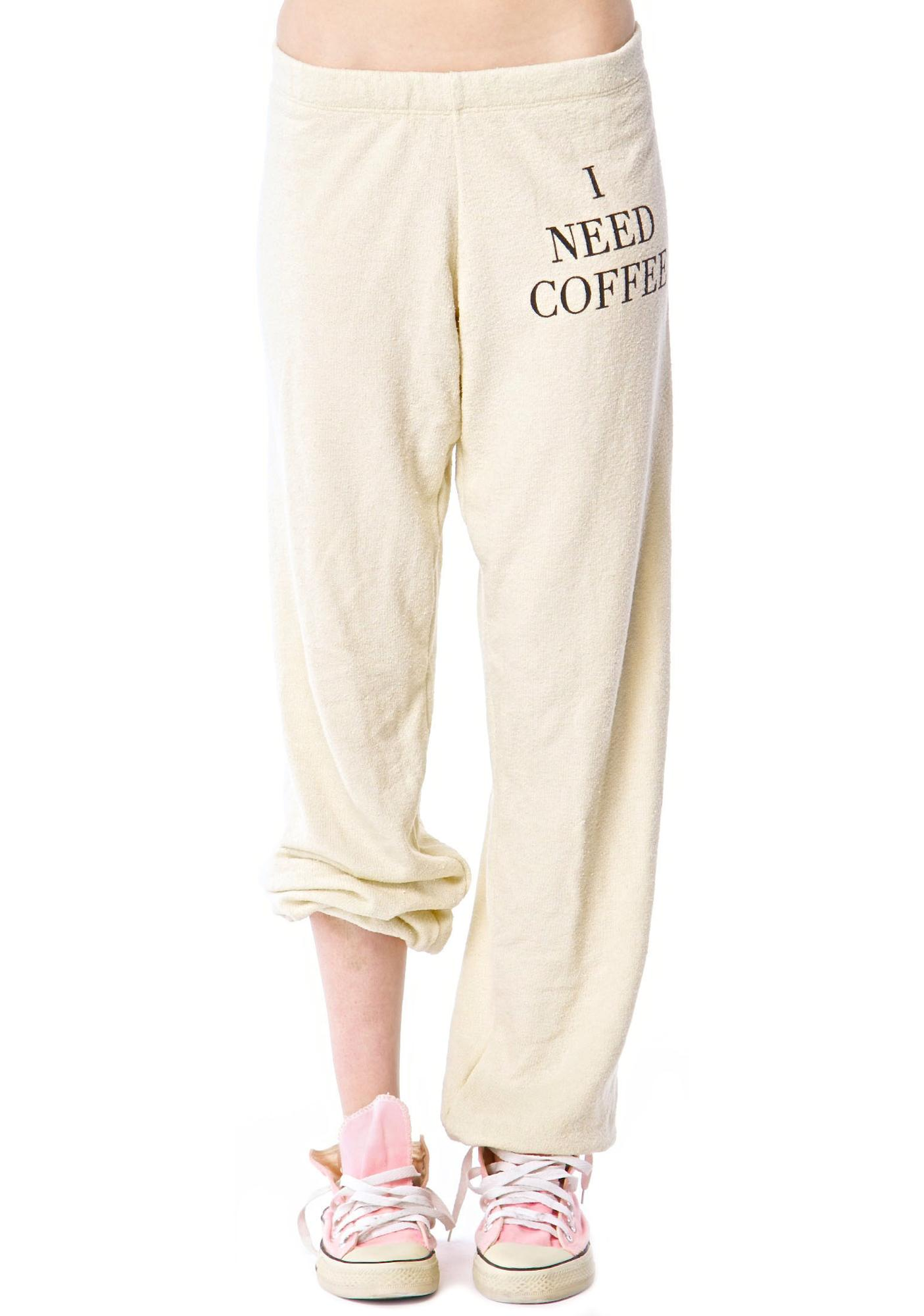 Wildfox Couture Desperate Mornings School Girl Sweatpants