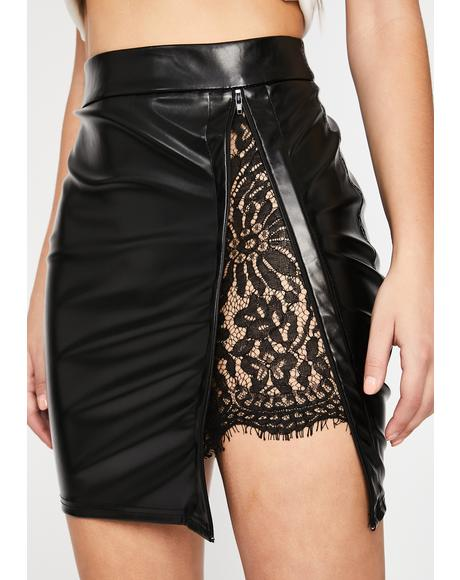 Vulgar Wifey Mini Skirt