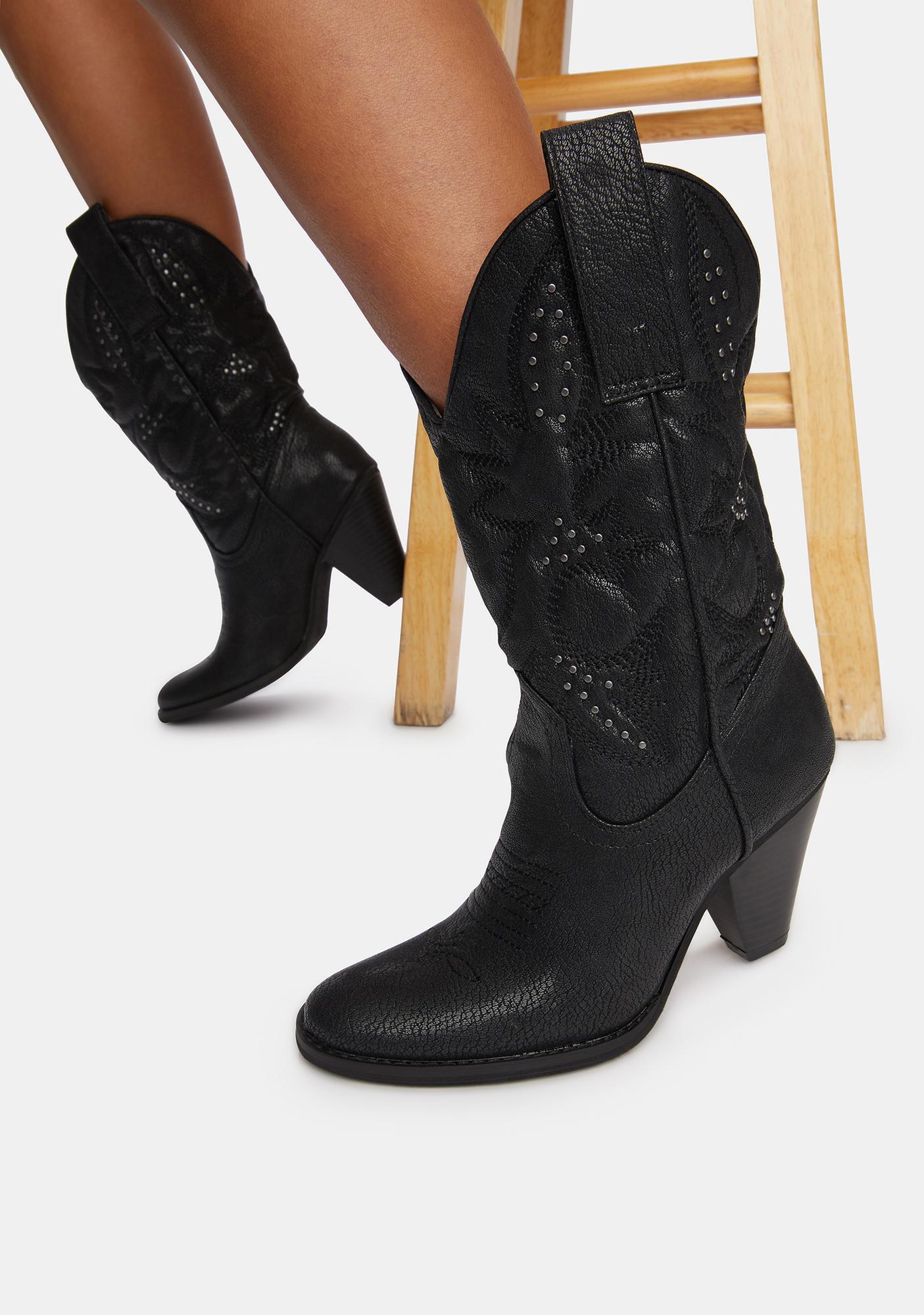 Volatile Shoes Denver Cowboy Boots