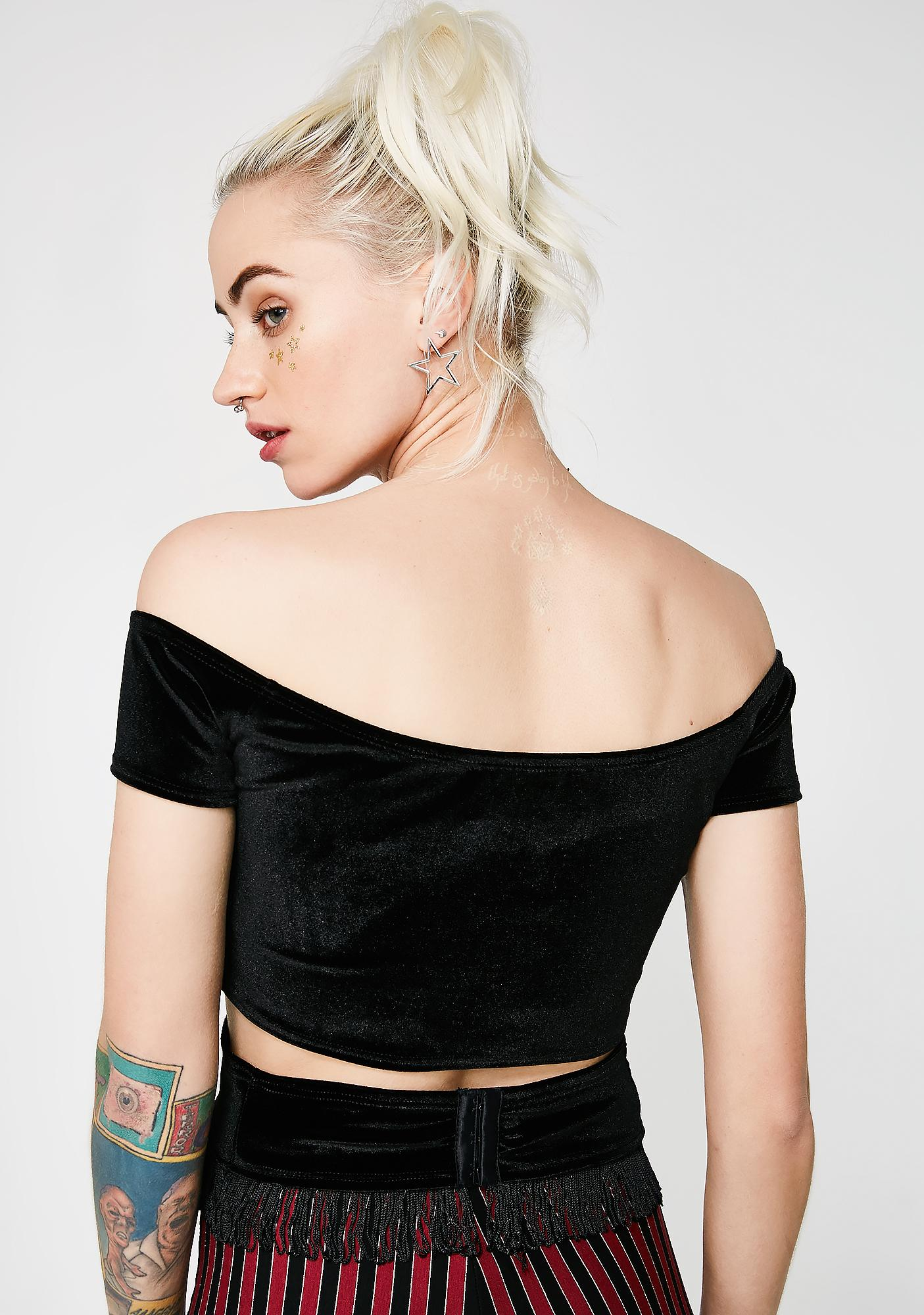 EastnWest Webster Crop Top