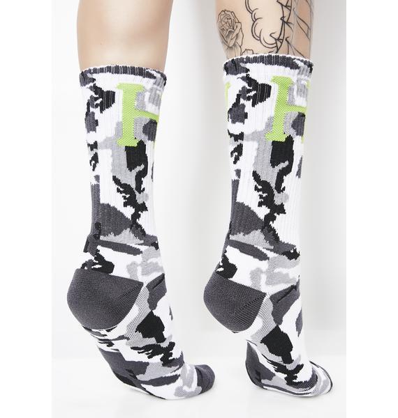 HUF Camo Classic H Socks