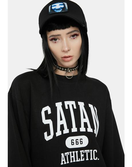 College 666 Athletic Sweatshirt