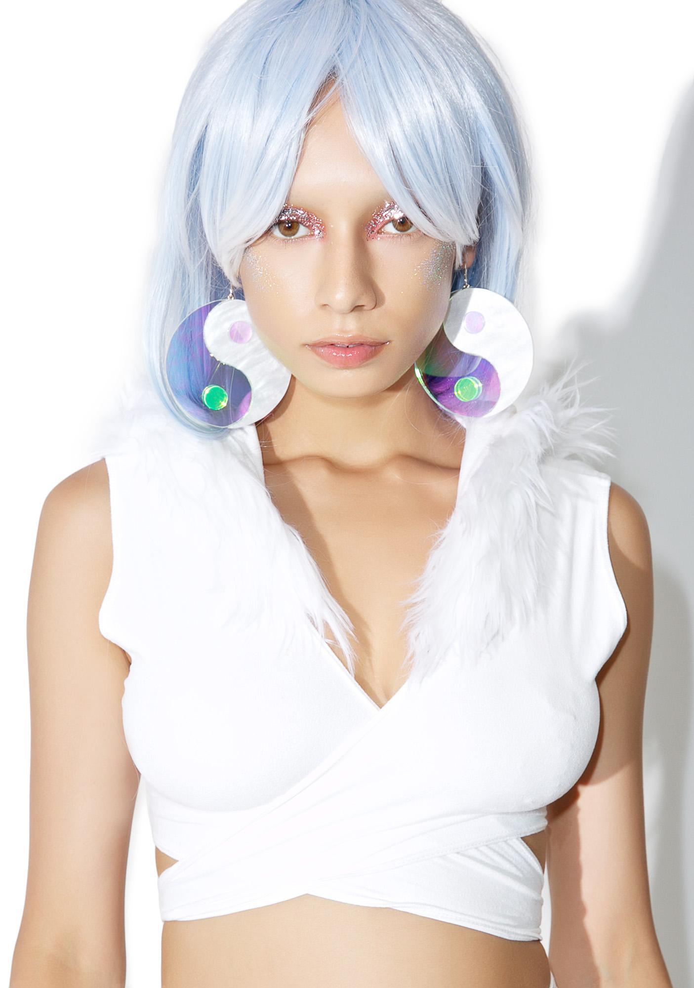 Marina Fini Yin Yang Earrings