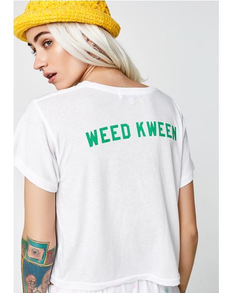 Weed Kween Middle Tee