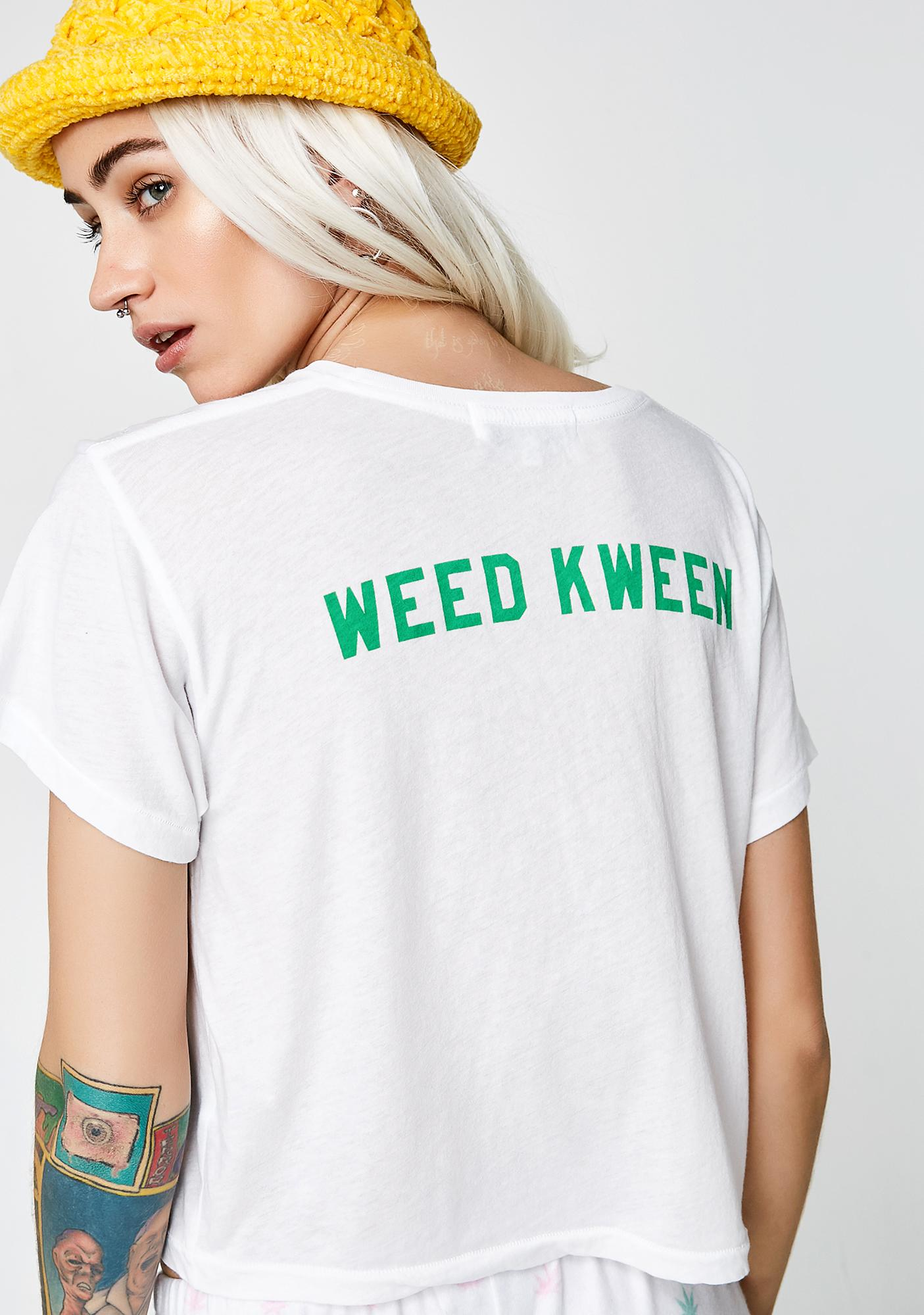 Wildfox Couture Weed Kween Middle Tee