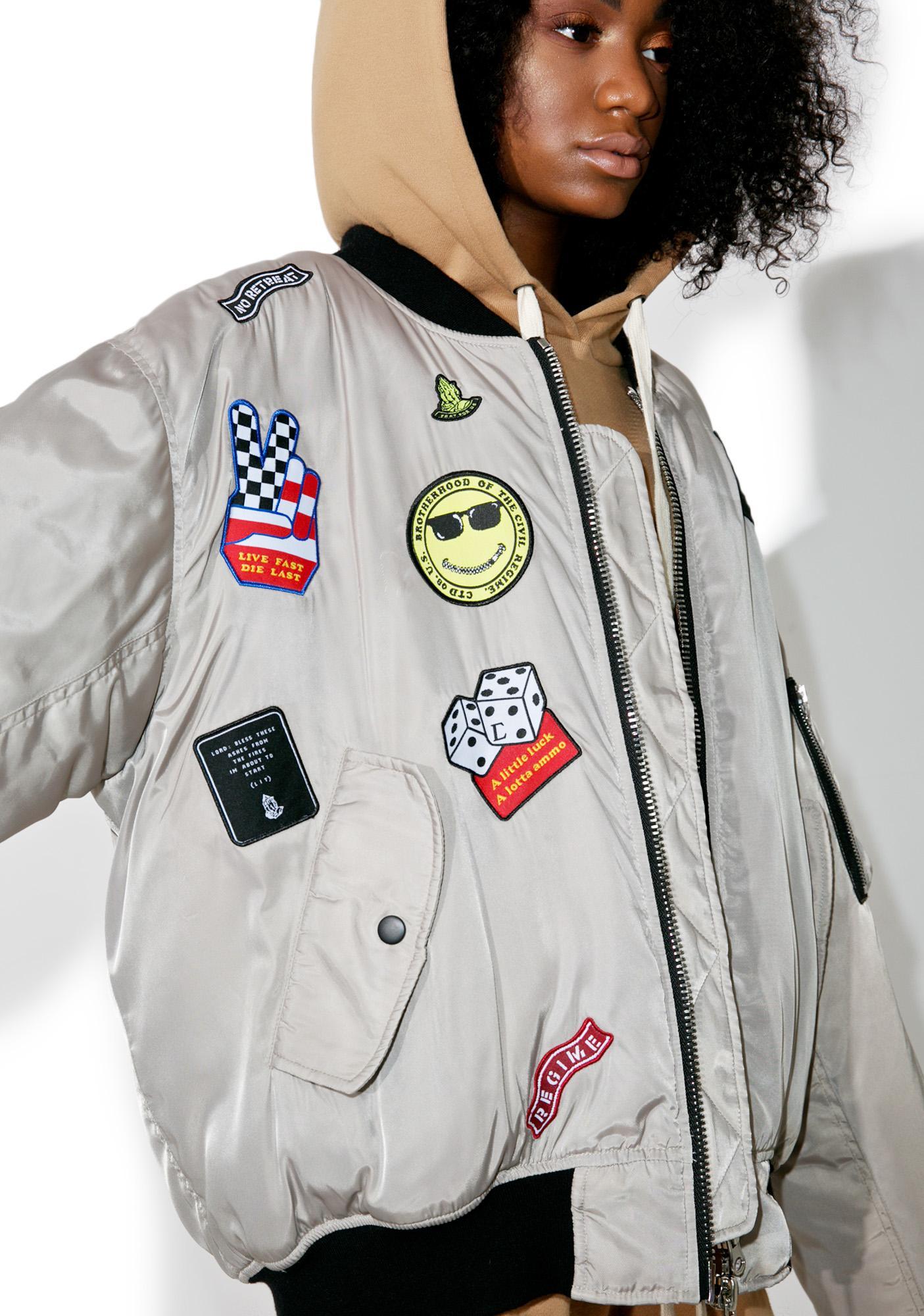 Civil Clothing Dillion Bomber Jacket