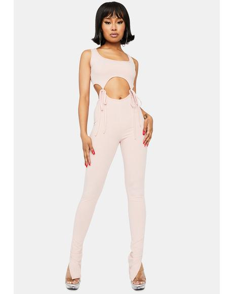 Got You Hooked Cut-Out Jumpsuit