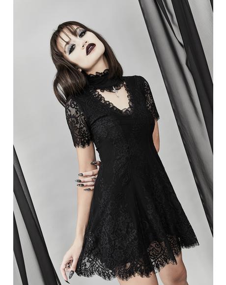 Twilight Hours Lace Dress