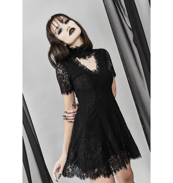 Widow Twilight Hours Lace Dress