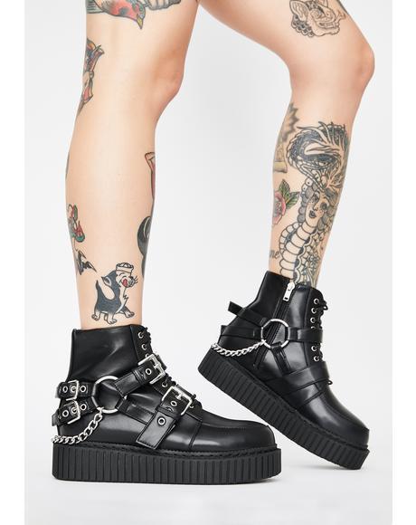 Thrills Chain Creeper Boots