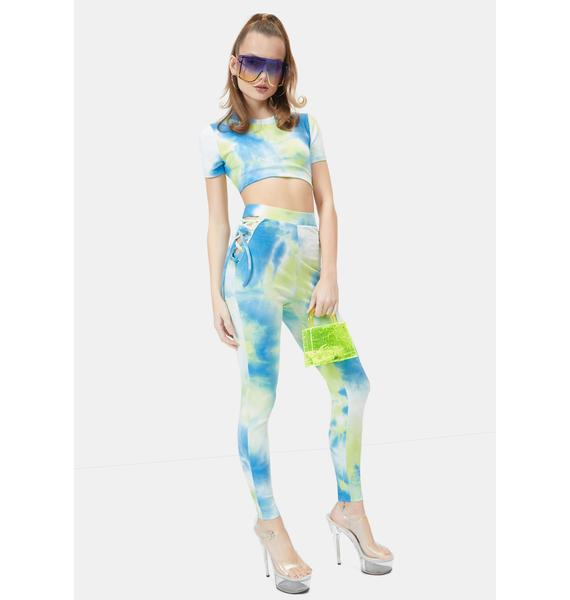 Keep It Groovy Tie Dye Leggings Set