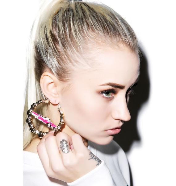 Joyrich Bamboo Car Earrings