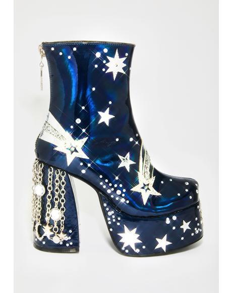 Stardust Ascendence Platform Boots